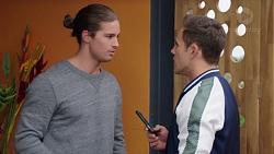 Tyler Brennan, Aaron Brennan in Neighbours Episode 7683