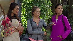 Dipi Rebecchi, Paige Novak, Elly Conway in Neighbours Episode 7684