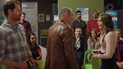 Shane Rebecchi, Jack Callaghan, Dipi Rebecchi, Karl Kennedy, Toadie Rebecchi, Sonya Mitchell, Paige Novak in Neighbours Episode 7684