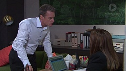 Paul Robinson, Terese Willis in Neighbours Episode 7684