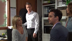 Steph Scully, Paul Robinson, Nick Petrides, Amy Williams in Neighbours Episode 7684