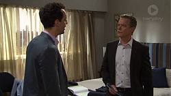 Nick Petrides, Paul Robinson in Neighbours Episode 7684