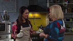 Dipi Rebecchi, Sheila Canning in Neighbours Episode 7684