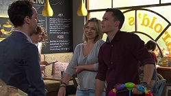 Nick Petrides, Steph Scully, Jack Callaghan in Neighbours Episode 7684