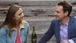 Amy Williams, Nick Petrides in Neighbours Episode 7684