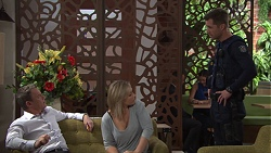 Paul Robinson, Steph Scully, Mark Brennan in Neighbours Episode 7685