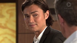 Leo Tanaka, Paul Robinson in Neighbours Episode 7685