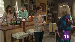Elly Conway, Karl Kennedy, Susan Kennedy, Sheila Canning in Neighbours Episode 7686