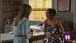 Amy Williams, Mishti Sharma in Neighbours Episode 7686