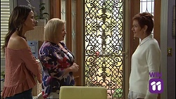Elly Conway, Sheila Canning, Susan Kennedy in Neighbours Episode 7686