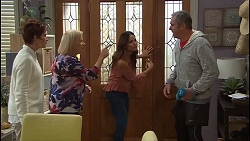 Susan Kennedy, Sheila Canning, Elly Conway, Karl Kennedy in Neighbours Episode 7686