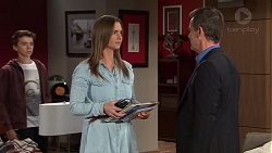 Jimmy Williams, Amy Williams, Paul Robinson in Neighbours Episode 7687