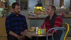 Shane Rebecchi, Karl Kennedy in Neighbours Episode 7687