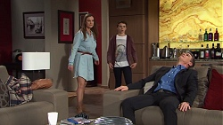 Amy Williams, Jimmy Williams, Paul Robinson in Neighbours Episode 7687