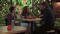 Jimmy Williams, Amy Williams, Gary Canning in Neighbours Episode 7687