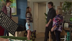 Jimmy Williams, Amy Williams, Gary Canning, Sheila Canning in Neighbours Episode 7687