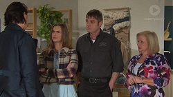 Leo Tanaka, Amy Williams, Gary Canning, Sheila Canning in Neighbours Episode 7687