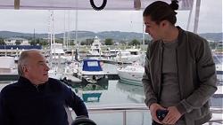 Hamish Roche, Tyler Brennan in Neighbours Episode 7687