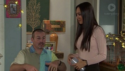 Toadie Rebecchi, Mishti Sharma in Neighbours Episode 7688