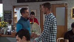 Aaron Brennan, Mark Brennan in Neighbours Episode 7688