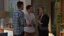 Mark Brennan, Jack Callaghan, Steph Scully in Neighbours Episode 7688