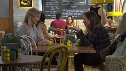 Steph Scully, Sonya Mitchell in Neighbours Episode 7690