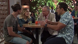 Tyler Brennan, Piper Willis, Hamish Roche, Aaron Brennan in Neighbours Episode 7691
