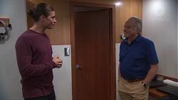Tyler Brennan, Hamish Roche in Neighbours Episode 7692