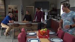 Hamish Roche, Piper Willis, Tyler Brennan, Aaron Brennan in Neighbours Episode 7692