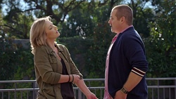 Steph Scully, Toadie Rebecchi in Neighbours Episode 7693
