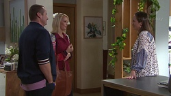 Toadie Rebecchi, Pauline Asp, Sonya Mitchell in Neighbours Episode 7693