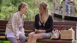 Xanthe Canning, Courtney Grixti in Neighbours Episode 7693