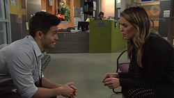 David Tanaka, Paige Novak in Neighbours Episode 7694