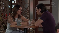 Elly Conway, Leo Tanaka in Neighbours Episode 7694