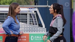 Amy Williams, Mishti Sharma in Neighbours Episode 7695