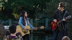 Kirsha Rebecchi, Ben Kirk in Neighbours Episode 7695