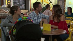 Paige Novak, Mark Brennan, Elly Conway in Neighbours Episode 7695