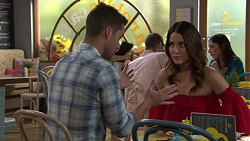 Mark Brennan, Elly Conway in Neighbours Episode 7695
