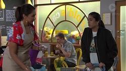Dipi Rebecchi, Yashvi Rebecchi in Neighbours Episode 7696