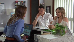 Amy Williams, Jack Callaghan, Steph Scully in Neighbours Episode 7696
