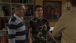 Karl Kennedy, Ben Kirk, Shane Rebecchi in Neighbours Episode 7696