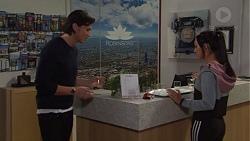 Leo Tanaka, Mishti Sharma in Neighbours Episode 7696