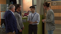 Hamish Roche, Aaron Brennan, David Tanaka, Tyler Brennan in Neighbours Episode 7697