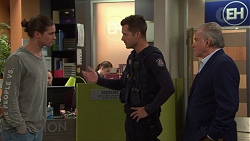 Tyler Brennan, Mark Brennan, Hamish Roche in Neighbours Episode 7697