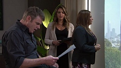 Gary Canning, Paige Novak, Terese Willis in Neighbours Episode 7698