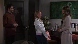 Sam Feldman, Xanthe Canning, Paige Novak in Neighbours Episode 7698