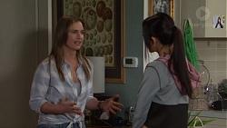 Amy Williams, Mishti Sharma in Neighbours Episode 7699