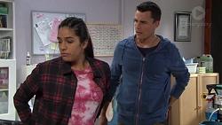 Yashvi Rebecchi, Jack Callaghan in Neighbours Episode 7699