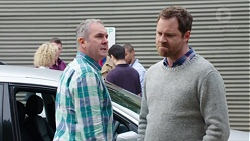 Karl Kennedy, Shane Rebecchi in Neighbours Episode 7700