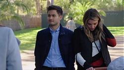 David Tanaka, Paige Novak in Neighbours Episode 7700